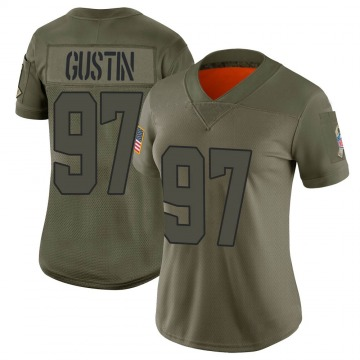 Women's Cleveland Browns Porter Gustin Camo Limited 2019 Salute to Service Jersey By Nike