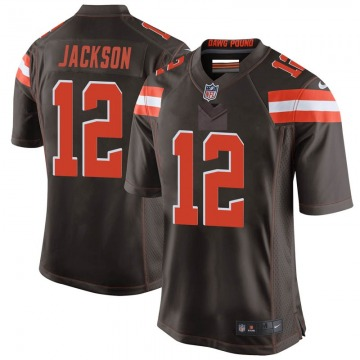 Youth Cleveland Browns Blake Jackson Brown Game Team Color Jersey By Nike