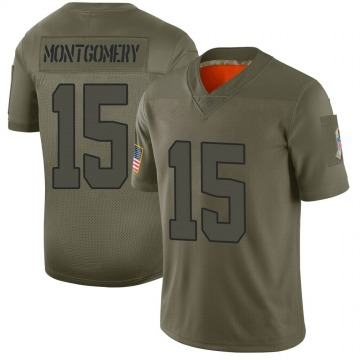 Youth Cleveland Browns D.J. Montgomery Camo Limited 2019 Salute to Service Jersey By Nike