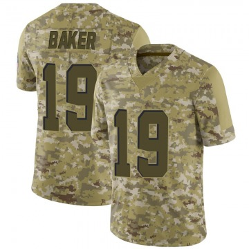 Youth Cleveland Browns Dorian Baker Camo Limited 2018 Salute to Service Jersey By Nike