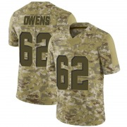 Youth Cleveland Browns Jarrell Owens Camo Limited 2018 Salute to Service Jersey By Nike