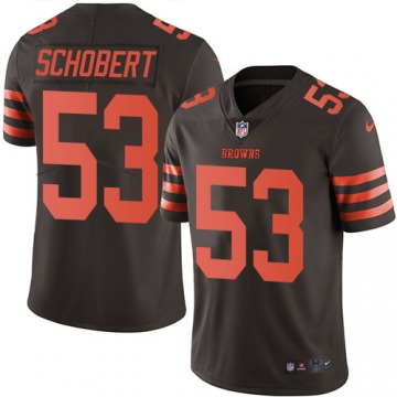 Youth Cleveland Browns Joe Schobert Brown Limited Color Rush Jersey By Nike